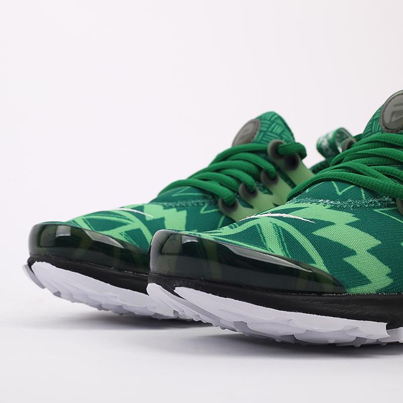 мужские зелёные  кроссовки nike air presto CJ1229-300 - цена, описание, фото 4