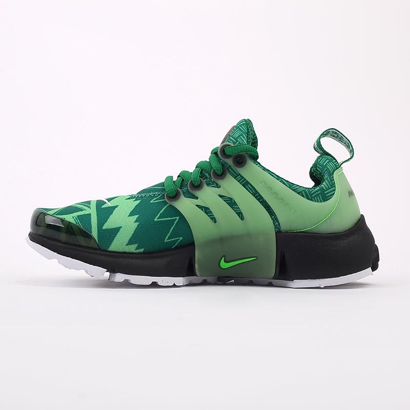 мужские зелёные  кроссовки nike air presto CJ1229-300 - цена, описание, фото 5