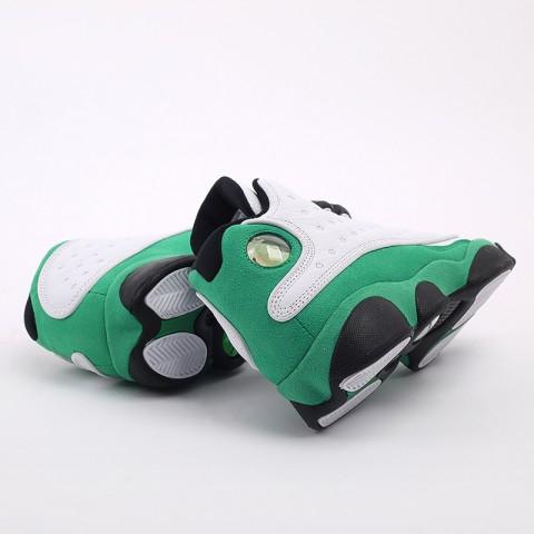 женские белые, зелёные  кроссовки jordan 13 retro (gs) DB6536-113 - цена, описание, фото 3