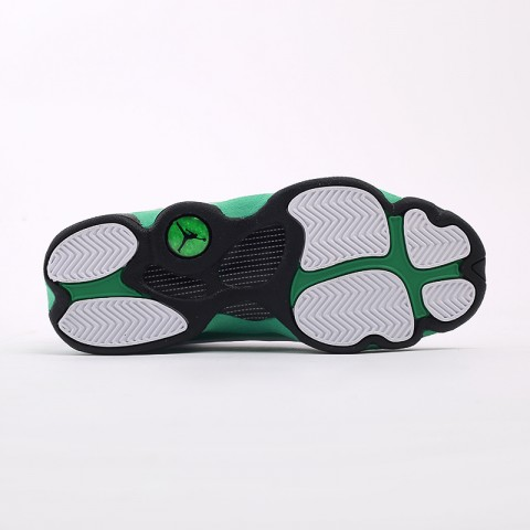 женские белые, зелёные  кроссовки jordan 13 retro (gs) DB6536-113 - цена, описание, фото 5