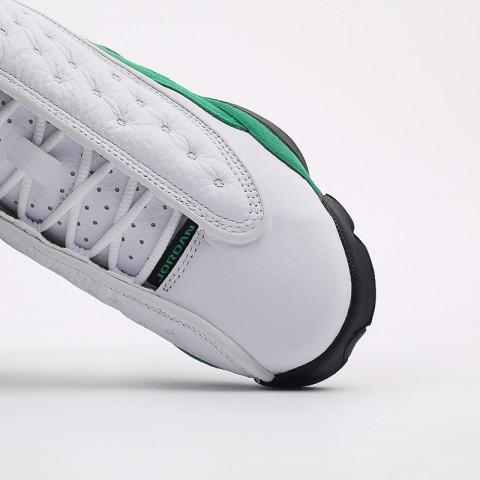 женские белые, зелёные  кроссовки jordan 13 retro (gs) DB6536-113 - цена, описание, фото 9