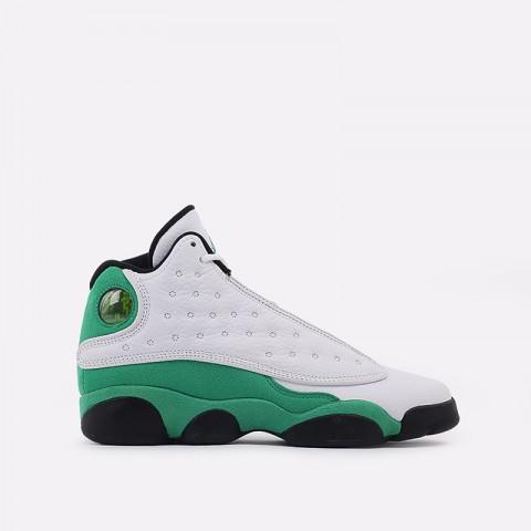 женские белые, зелёные  кроссовки jordan 13 retro (gs) DB6536-113 - цена, описание, фото 1
