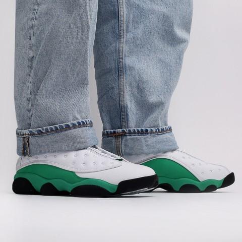 женские белые, зелёные  кроссовки jordan 13 retro (gs) DB6536-113 - цена, описание, фото 10