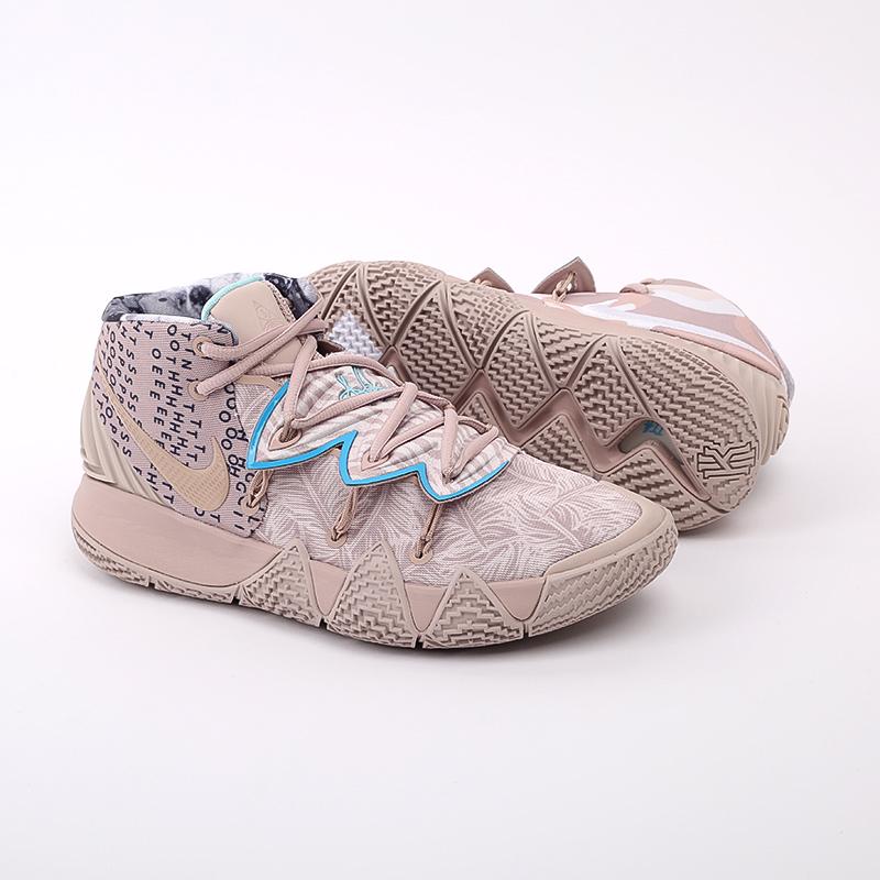 мужские бежевые  кроссовки nike kybrid s2 CQ9323-200 - цена, описание, фото 3