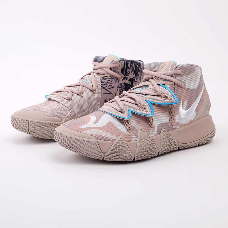 мужские бежевые  кроссовки nike kybrid s2 CQ9323-200 - цена, описание, фото 7