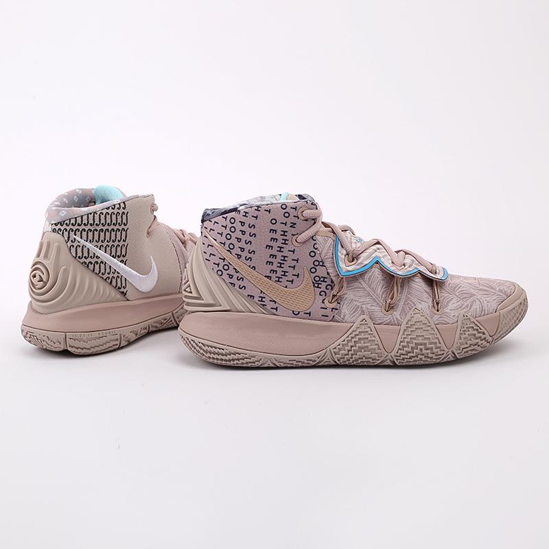 мужские бежевые  кроссовки nike kybrid s2 CQ9323-200 - цена, описание, фото 2