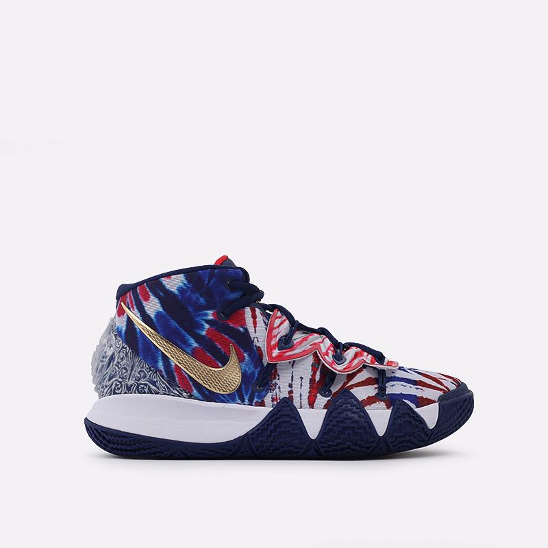 мужские синие  кроссовки nike kybrid s2 CQ9323-400 - цена, описание, фото 1