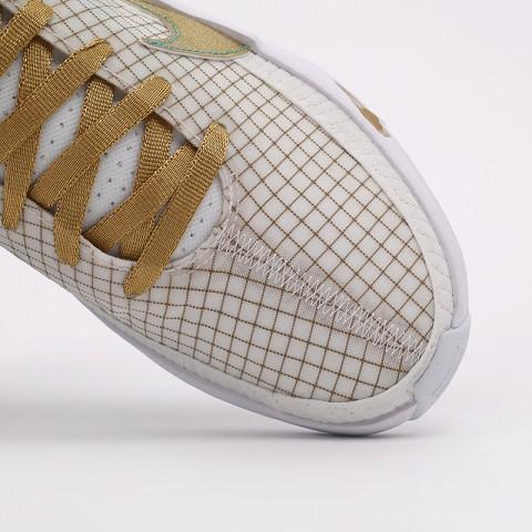 белые, золотые  кроссовки nike kd13 DA0895-102 - цена, описание, фото 9