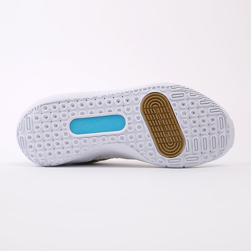 белые, золотые  кроссовки nike kd13 DA0895-102 - цена, описание, фото 4