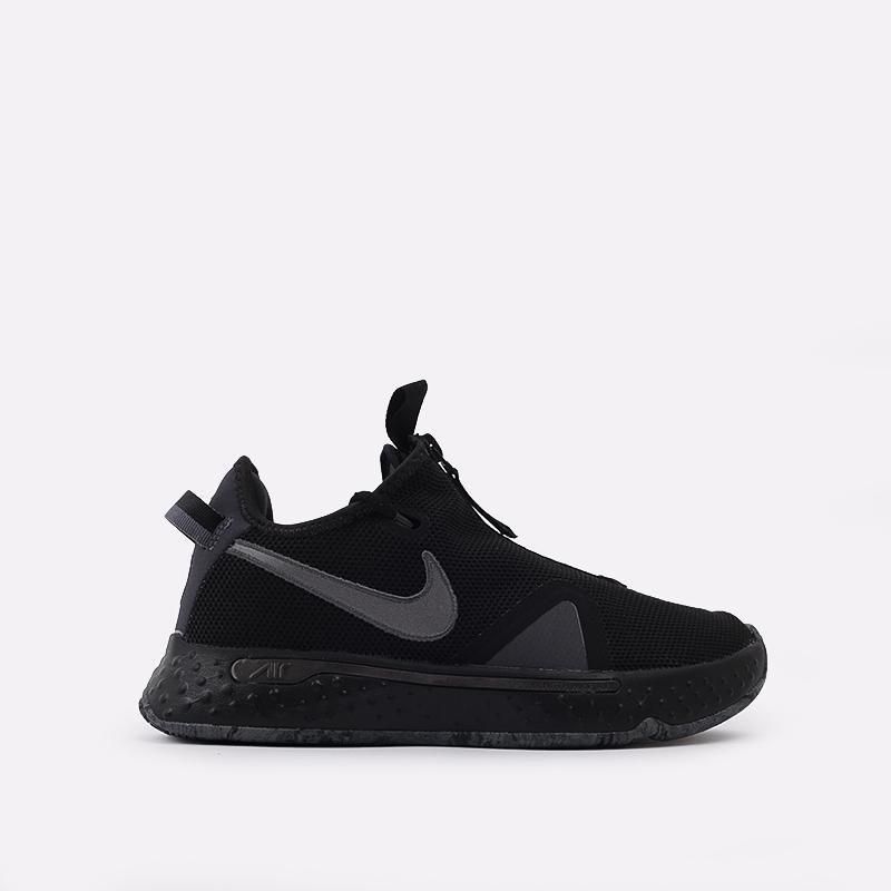 чёрные  кроссовки nike pg 4 CD5079-005 - цена, описание, фото 1