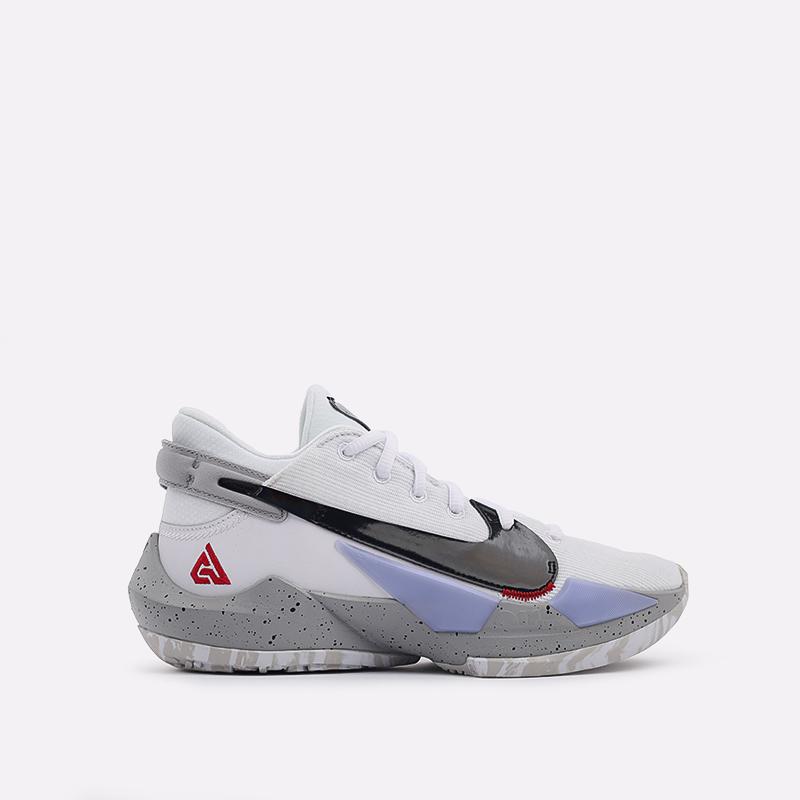 белые  кроссовки nike zoom freak 2 CK5424-100 - цена, описание, фото 1