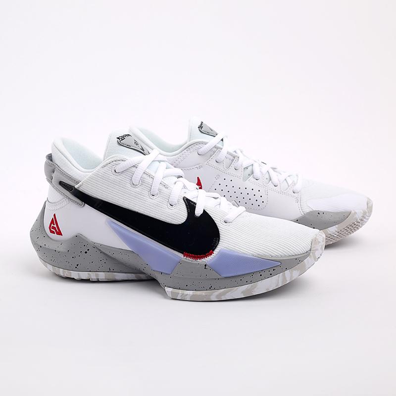 белые  кроссовки nike zoom freak 2 CK5424-100 - цена, описание, фото 2