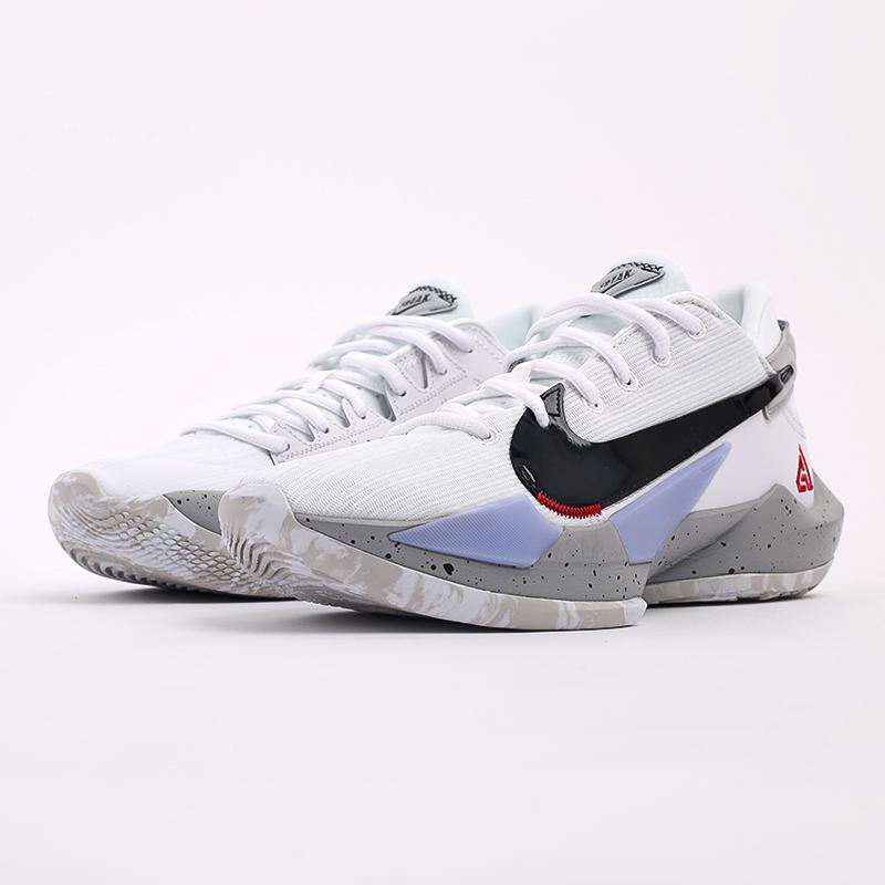 белые  кроссовки nike zoom freak 2 CK5424-100 - цена, описание, фото 7