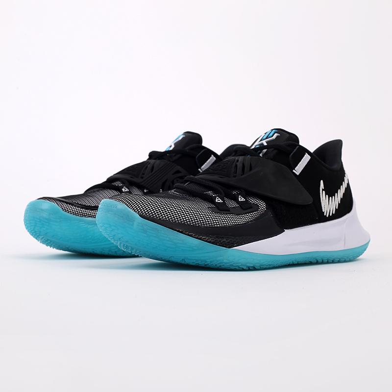 мужские чёрные  кроссовки nike kyrie low 3 CJ1286-001 - цена, описание, фото 2