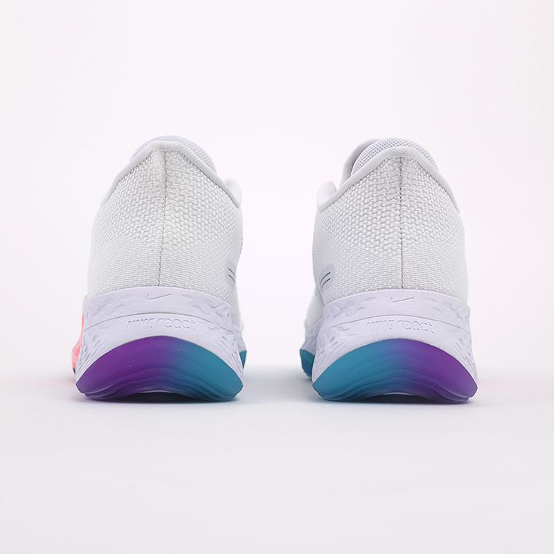мужские белые  кроссовки nike air zoom bb nxt CK5707-100 - цена, описание, фото 3