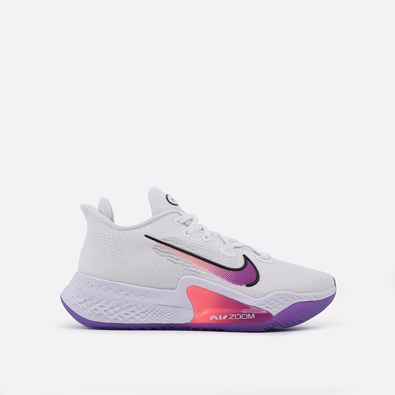 мужские белые  кроссовки nike air zoom bb nxt CK5707-100 - цена, описание, фото 1