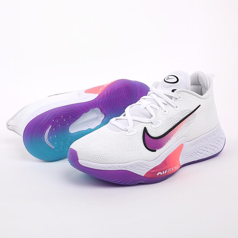 мужские белые  кроссовки nike air zoom bb nxt CK5707-100 - цена, описание, фото 6