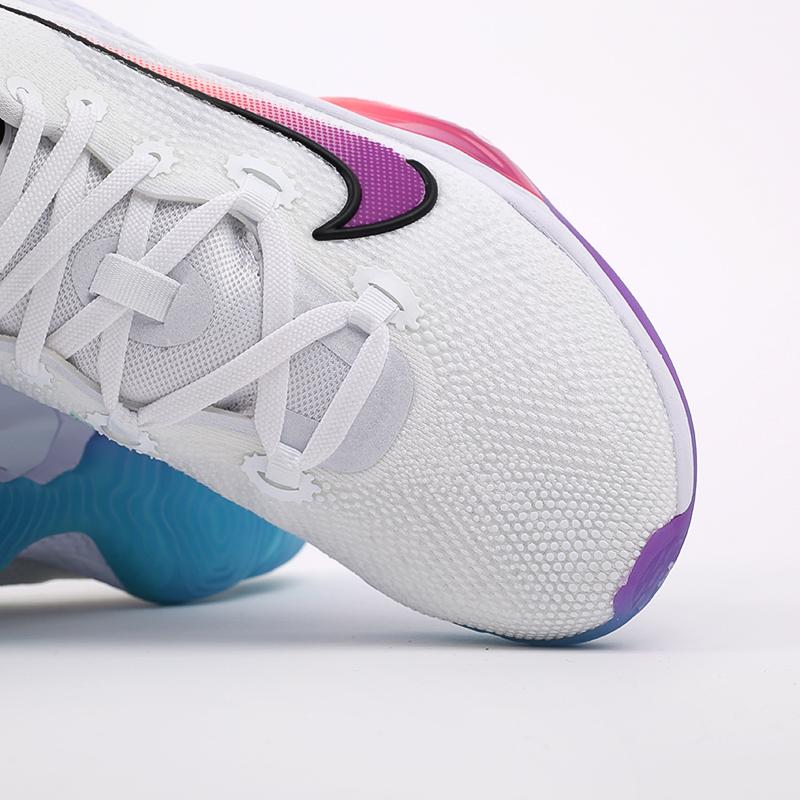 мужские белые  кроссовки nike air zoom bb nxt CK5707-100 - цена, описание, фото 8