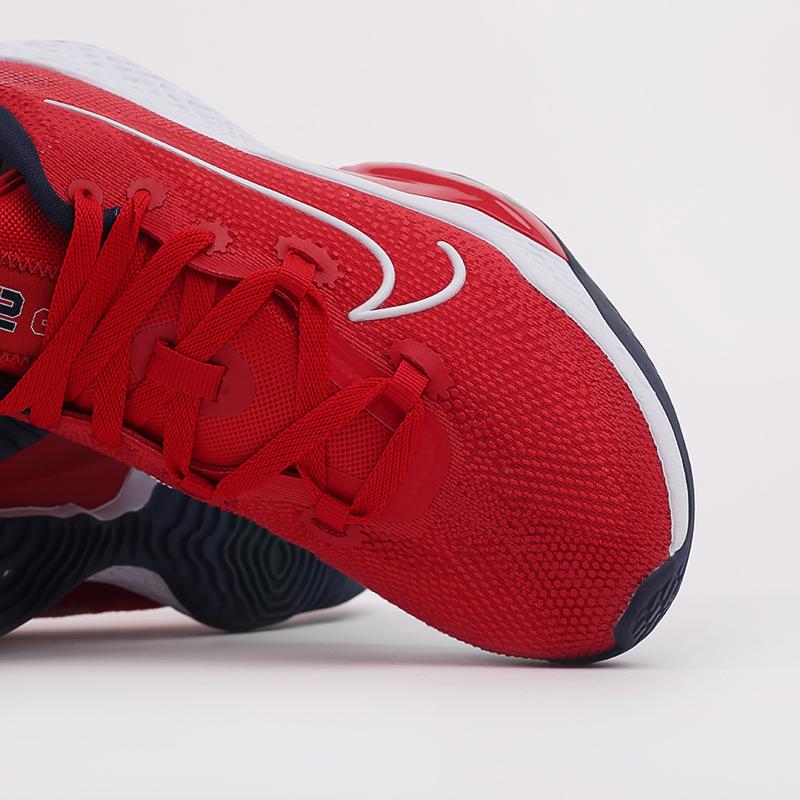 мужские красные  кроссовки nike air zoom bb nxt CK5707-600 - цена, описание, фото 8