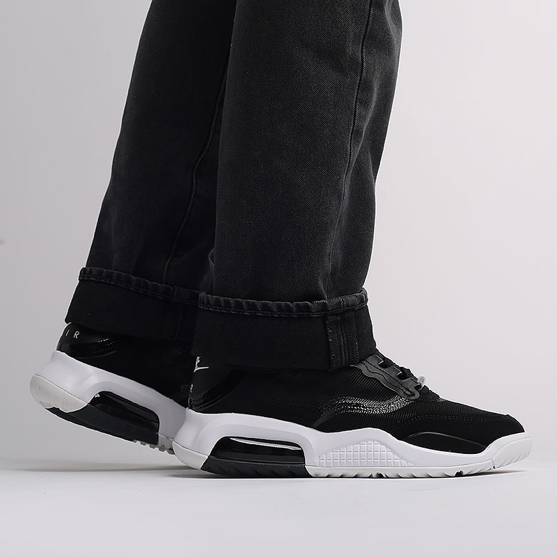 мужские чёрные  кроссовки jordan max 200 CD6105-001 - цена, описание, фото 9