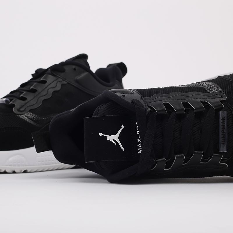 мужские чёрные  кроссовки jordan max 200 CD6105-001 - цена, описание, фото 7