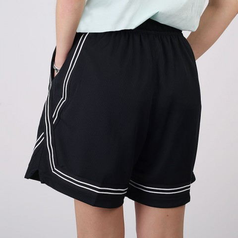 женские черные  шорты  nike dri-fit swoosh fly basketball shorts CK6599-010 - цена, описание, фото 4
