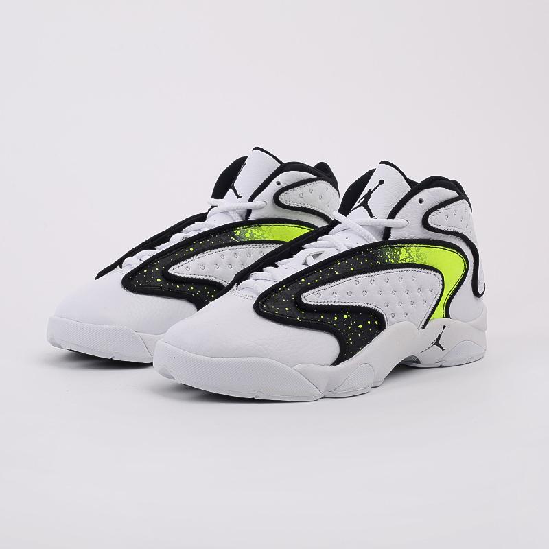 женские белые  кроссовки jordan wmns air og se CZ4777-107 - цена, описание, фото 2