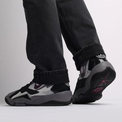 мужские черные  кроссовки jordan zoom'92 psg DA2554-006 - цена, описание, фото 5
