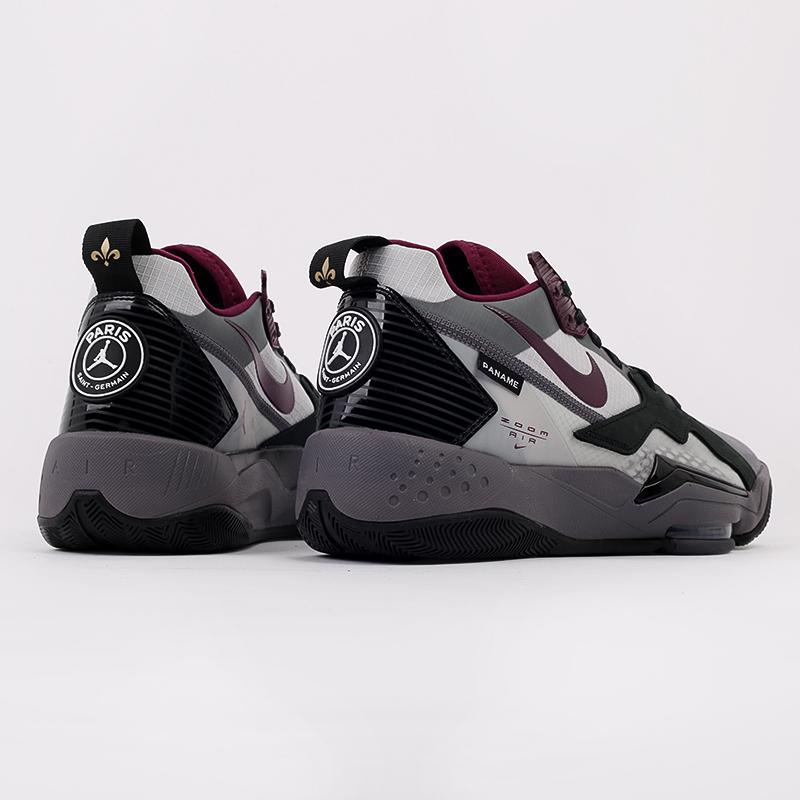мужские черные  кроссовки jordan zoom'92 psg DA2554-006 - цена, описание, фото 3