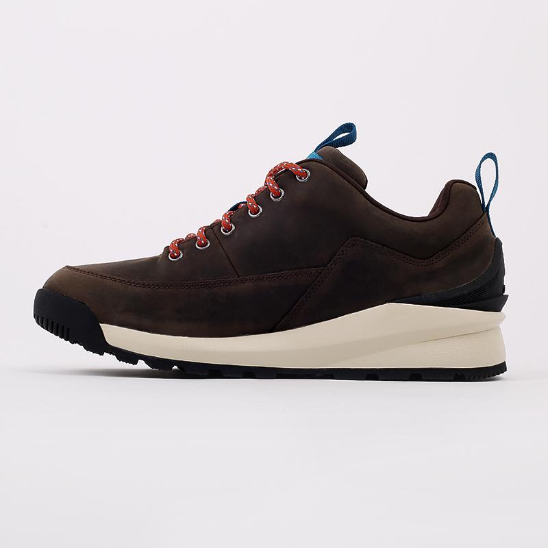 мужские коричневые  ботинки the north face back-to-berkeley low wp TA4OBSU6V - цена, описание, фото 8