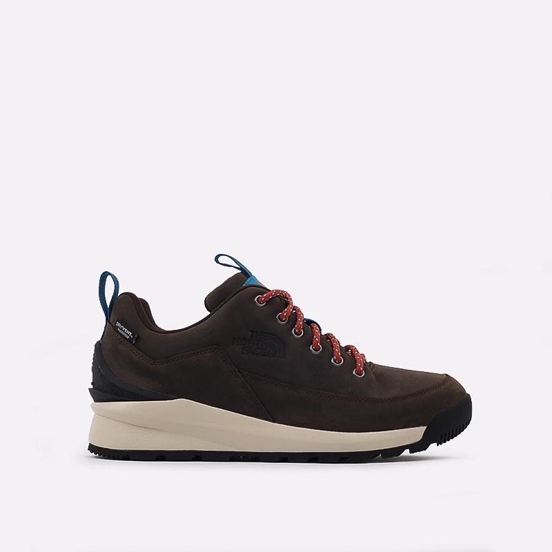 мужские коричневые  ботинки the north face back-to-berkeley low wp TA4OBSU6V - цена, описание, фото 1