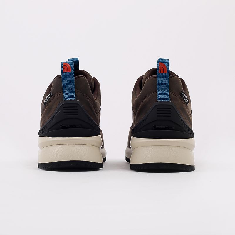 мужские коричневые  ботинки the north face back-to-berkeley low wp TA4OBSU6V - цена, описание, фото 3