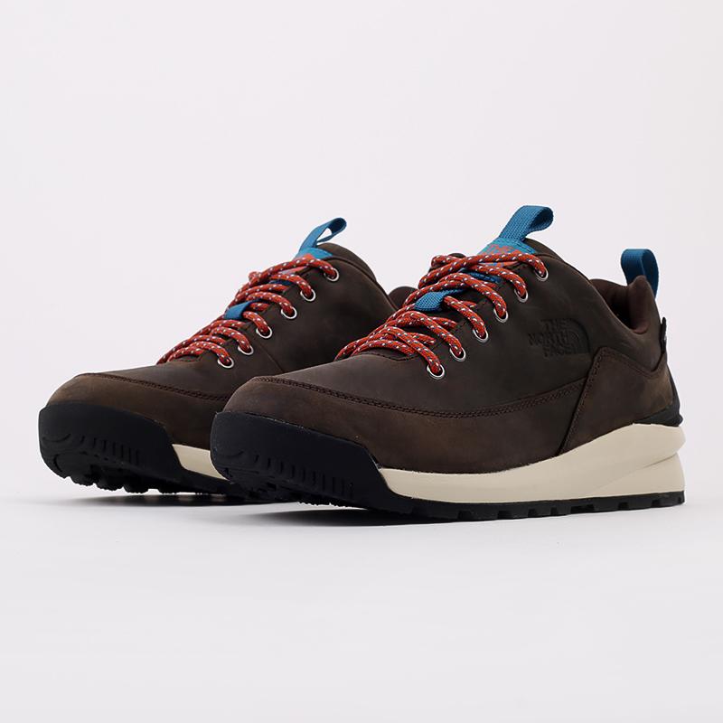 мужские коричневые  ботинки the north face back-to-berkeley low wp TA4OBSU6V - цена, описание, фото 2