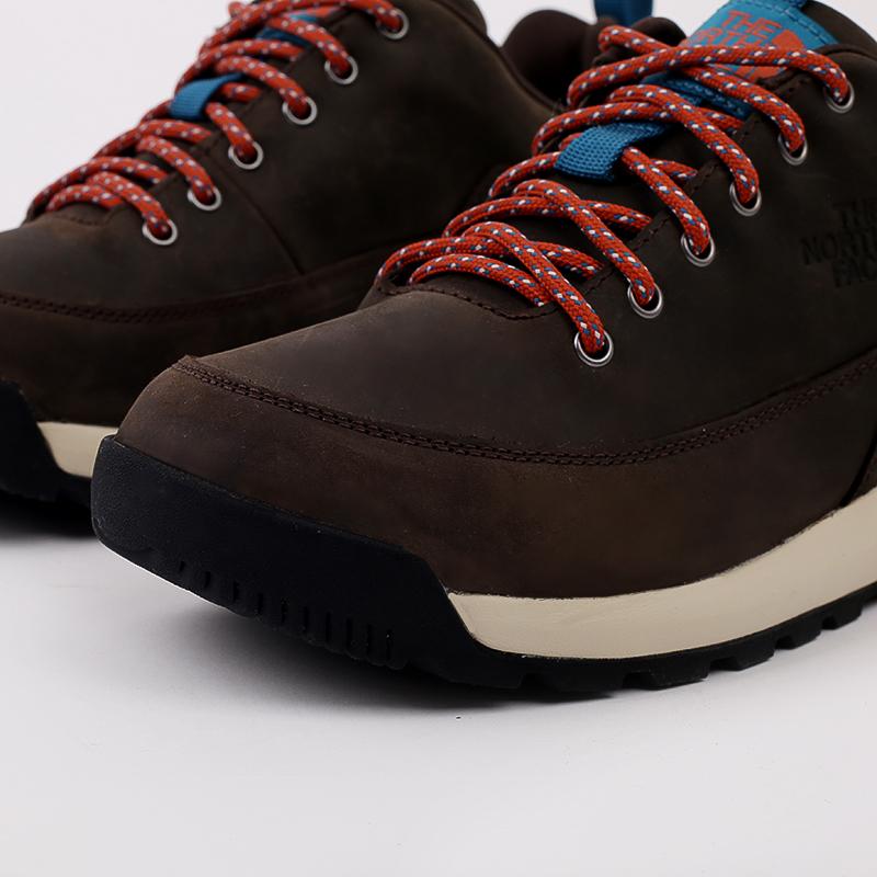 мужские коричневые  ботинки the north face back-to-berkeley low wp TA4OBSU6V - цена, описание, фото 5
