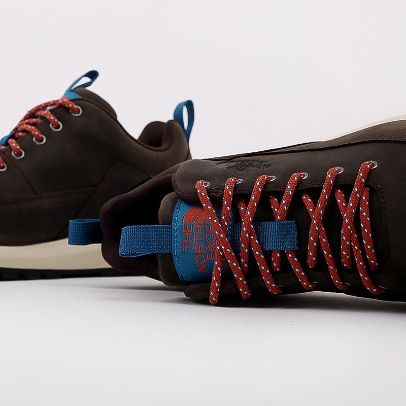 мужские коричневые  ботинки the north face back-to-berkeley low wp TA4OBSU6V - цена, описание, фото 6