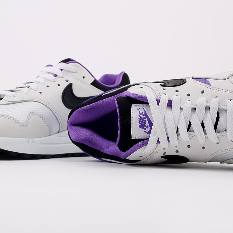 мужские белые, чёрные, фиолетовые  кроссовки nike air max 1 dna ch.1 AR3863-101 - цена, описание, фото 5