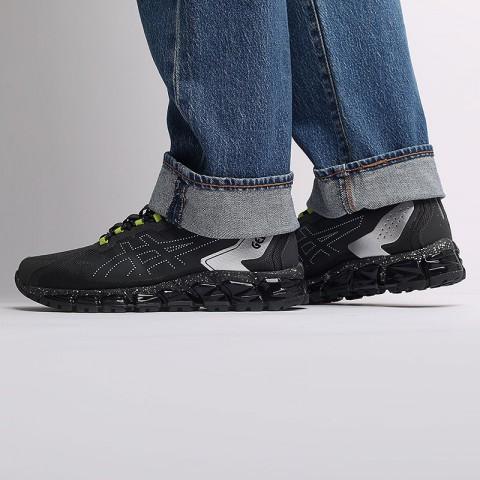 мужские черные  кроссовки asics gel-quantum 360 6 1021A471-023 - цена, описание, фото 7
