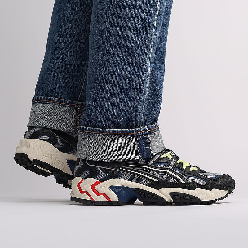 мужские серые, черные  кроссовки asics gel-nandi 1021A315-022 - цена, описание, фото 7