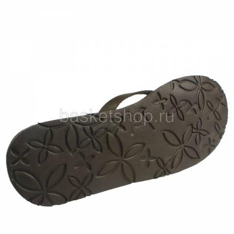 женский коричневый  wmns celso thong 386860-270 - цена, описание, фото 4