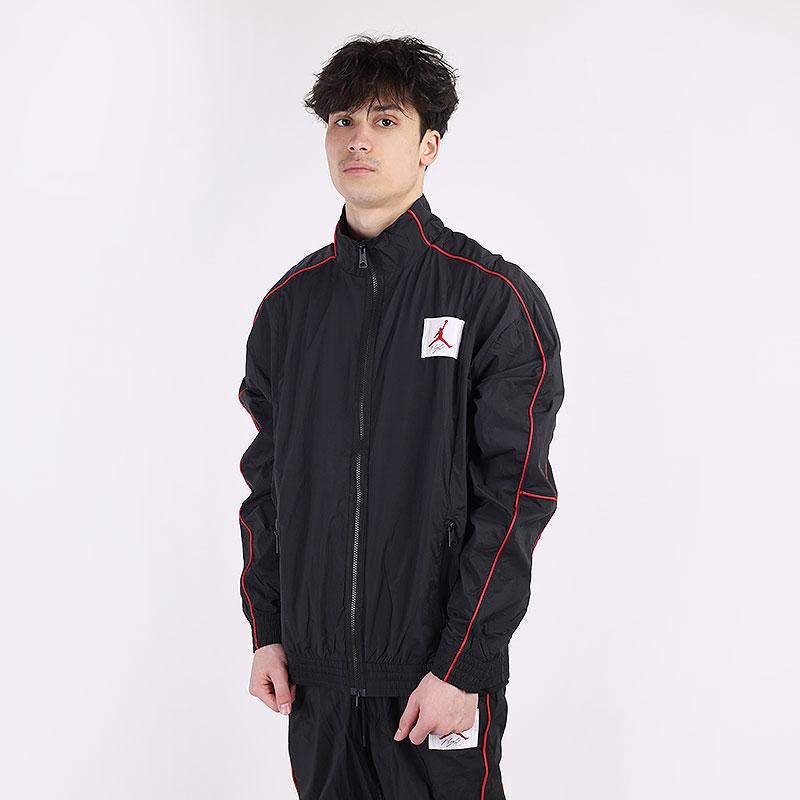 мужскую черную  куртку jordan flight warmup jacket CK6652-010 - цена, описание, фото 1