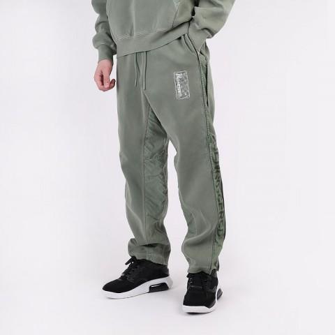 мужские зеленые  брюки jordan 23 engineered fleece trousers CT2918-313 - цена, описание, фото 1