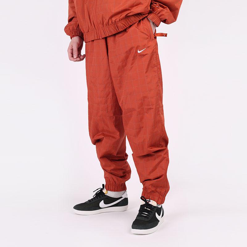 мужские оранжевые  брюки nike nikelab flash tracksuit bottoms CV0558-895 - цена, описание, фото 1