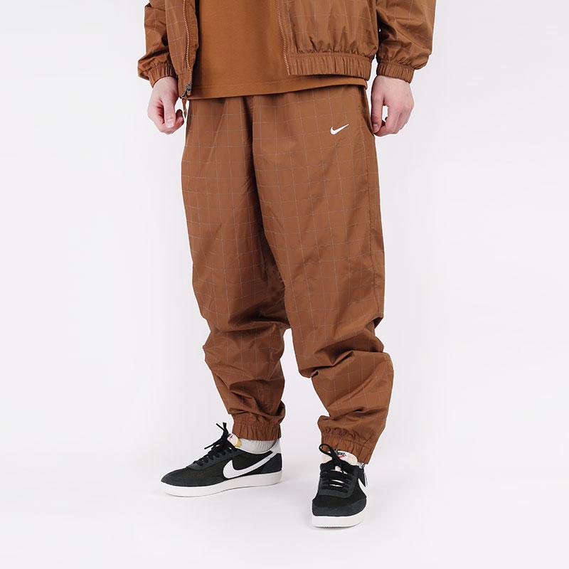 мужские коричневые  брюки nike nikelab flash tracksuit bottoms CV0558-281 - цена, описание, фото 1