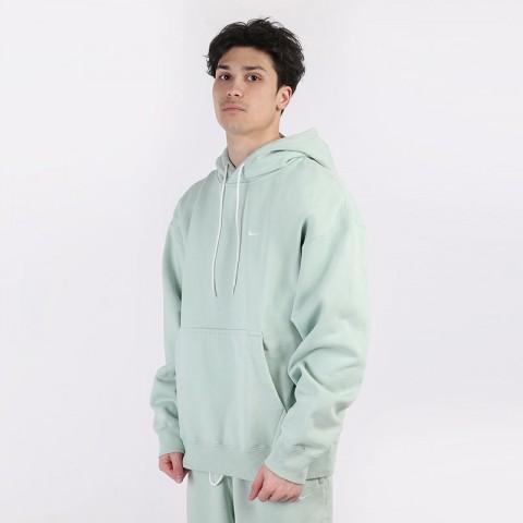 мужскую зеленую  толстовка nike nikelab washed hoodie CZ5350-321 - цена, описание, фото 1
