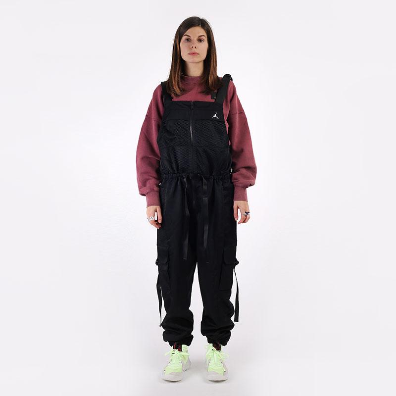 женский черный  комбинезон jordan utility flight suit CU4081-010 - цена, описание, фото 1