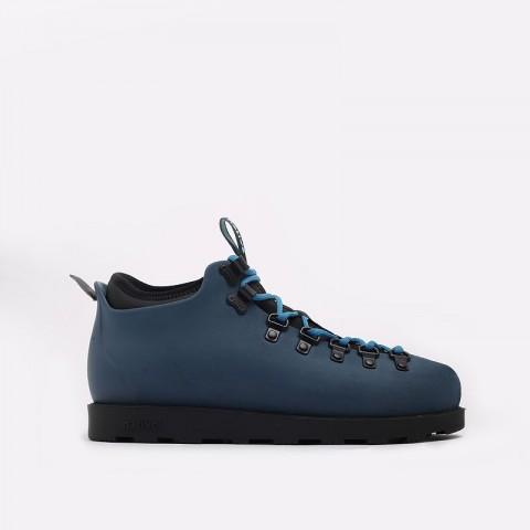 мужские синие  ботинки native fitzsimmons citylite 31106800-4080-reflbl/jfyb - цена, описание, фото 1