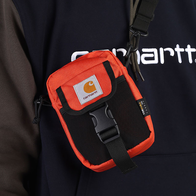 оранжевую  сумка carhartt wip delta shoulder pouch I028153-safety orange - цена, описание, фото 1