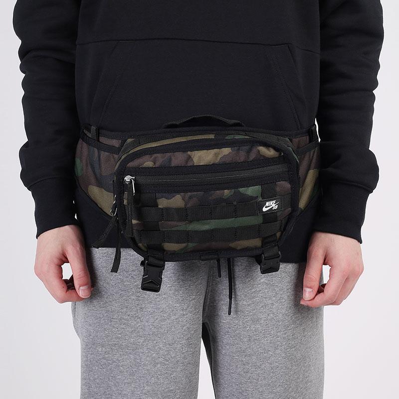 зеленую  сумка nike sb rpm skate waistpack 4l CZ1865-010 - цена, описание, фото 1