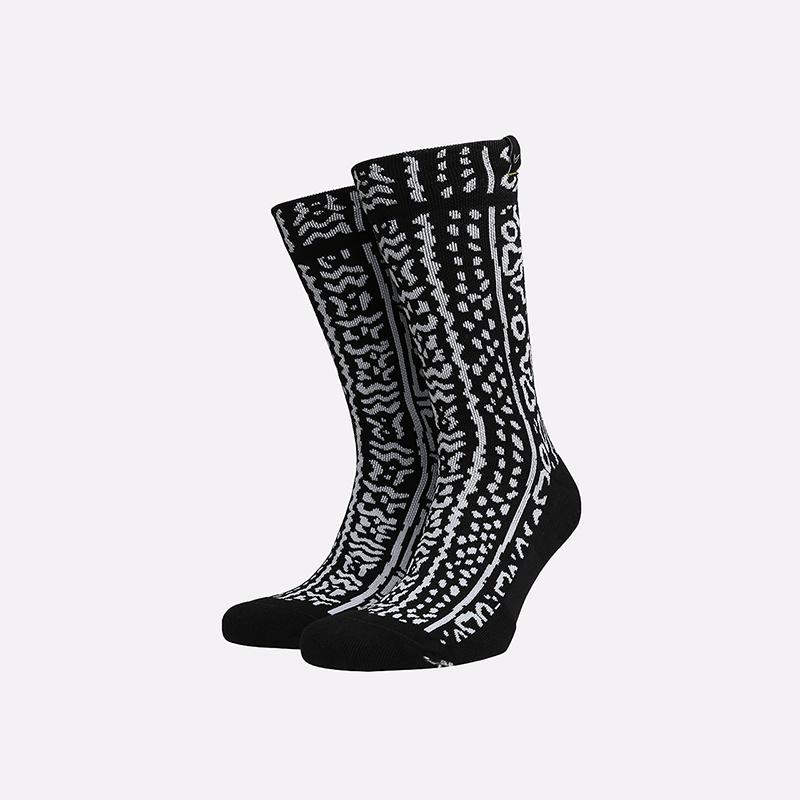 мужские чёрные  носки nike snkr sox CK6769-010 - цена, описание, фото 1