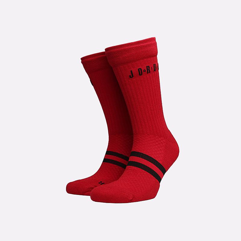 мужские красные  носки jordan legacy crew SK0025-687 - цена, описание, фото 1